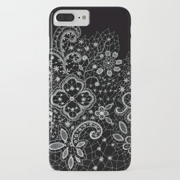 B&W Lace iPhone Case