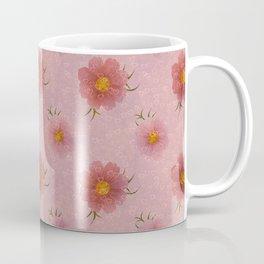 Flowers Floating Hearts Coffee Mug