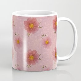 Flowers Floating Hearts Coffee Mug