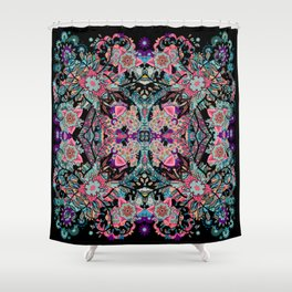 Mandala Colorful Boho Shower Curtain