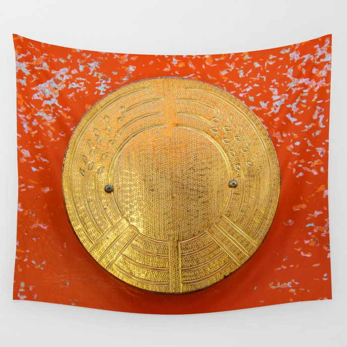 Land of the rising sun Wall Tapestry