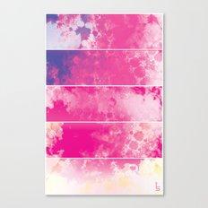Color Texture (Five Panels Series) Canvas Print