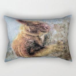 Tree Kangaroo Rectangular Pillow