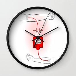 Life's Essence Wall Clock