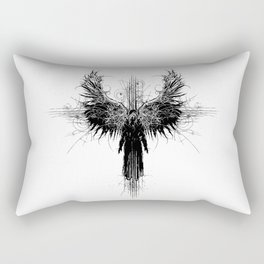 Particles and Angels Rectangular Pillow