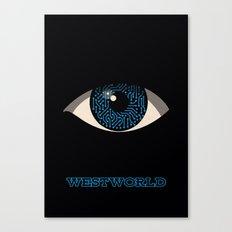 Westworld Alternative Poster (Hosts) Canvas Print