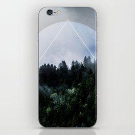 Foggy Woods 3X iPhone Skin