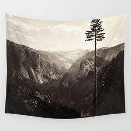 Vintage Yosemite Valley, California, ca. 1865 Wall Tapestry