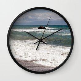 POWER OF THE SEA - SICILY Wall Clock