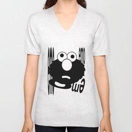 Emo Elmo Unisex V-Neck