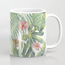 Palm Leaves Pattern 10 Coffee Mug
