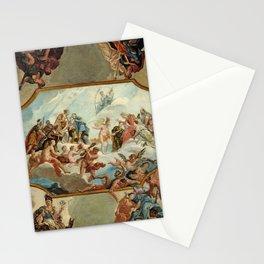 Antonio Bellucci - Reverence to Elector Johann Wilhelm von der Pfalz, Bensberg Castle (1709) Stationery Cards