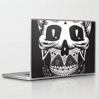 calavera Laptop & iPad Skins featuring Calavera by Sofia Bolona