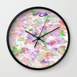 150725 My Happy Bubbles 37 Wall Clock