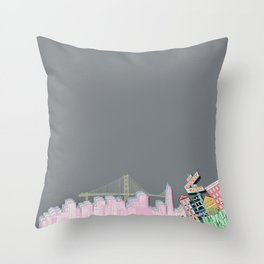 if you're going to san francisco Throw Pillow