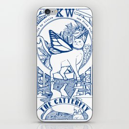 The Catterfly iPhone Skin