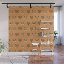 Kellie's Kitties. Kitty Wallpaper Pattern for the Crazy Cat Lady in your Life! Wall Mural