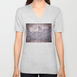 periodic table of elements Unisex V-Neck