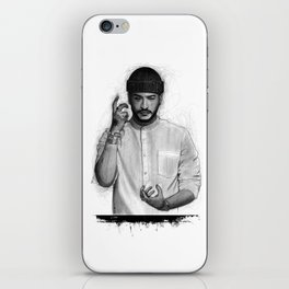 Slimane The Voice iPhone Skin