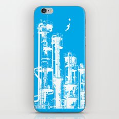 Factory Jump (white) iPhone & iPod Skin
