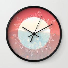 Crystal Sunrise Wall Clock