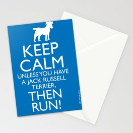 keep calm... unless... Stationery Cards