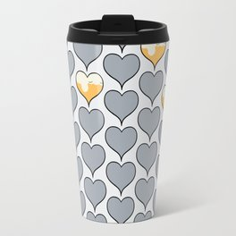 Beer My Valentine Travel Mug