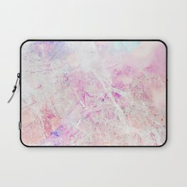 Blush Aqua Marble Laptop Sleeve