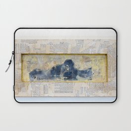 Whisper from the Burlesque Ghost Laptop Sleeve