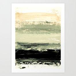 abstract minimalist landscape 6 Art Print