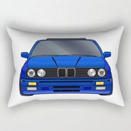 M3 E30 Blue Rectangular Pillow