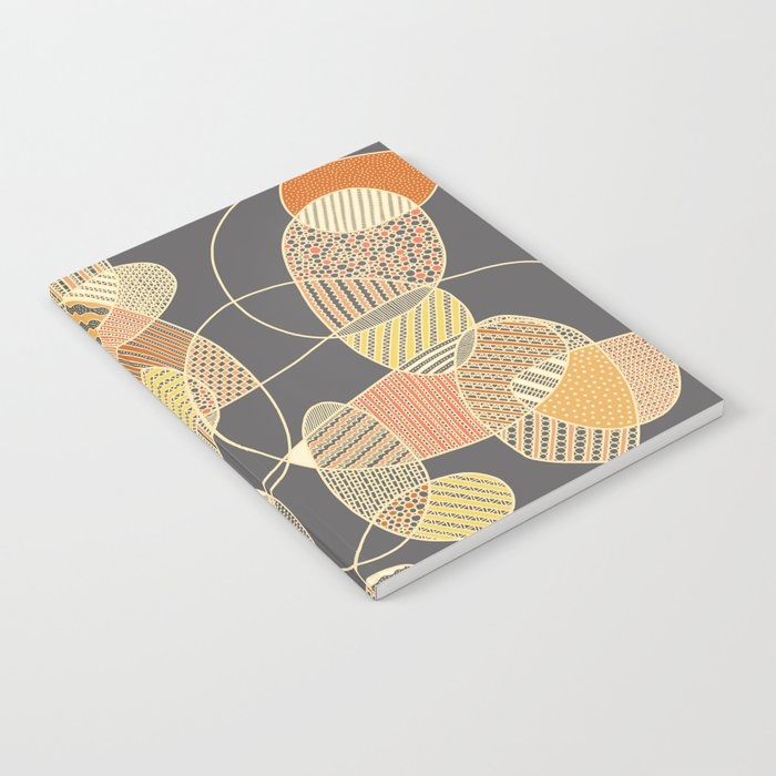Tangled (grey version) Notebook