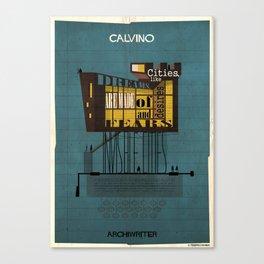 02_ARCHIWRITER_italo Calvino Canvas Print