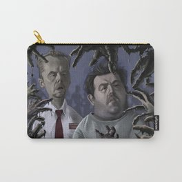 Shaun of the Dead Caricature Carry-All Pouch