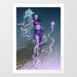 Iroque Art Print