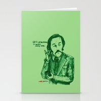 anchorman Stationery Cards featuring Anchorman: 60% of the Time by Red Misery
