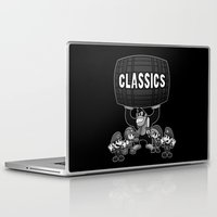 gaming Laptop & iPad Skins featuring Classic Gaming by A Strom