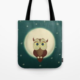 Owl by night Tote Bag