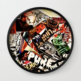 La Nuit Wall Clock