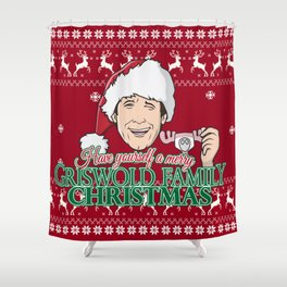 Have yourself a merry Griswold Family christmas Shower Curtain