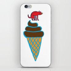 Ice cream cone iPhone & iPod Skin