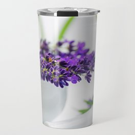 Lavender still life for pharmacies or curative practitioners Travel Mug