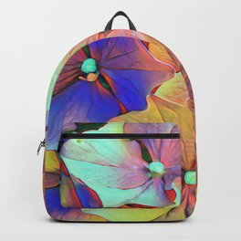 Flowers - a colour edit Backpack
