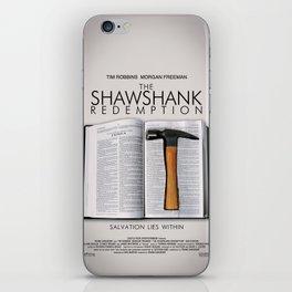 the shawshank redemption iPhone Skin