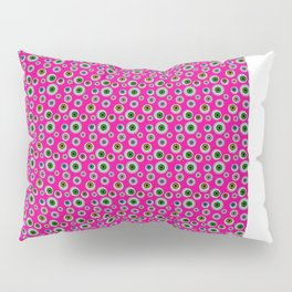 I only Have Eyes for You (on Manic Magenta background)  Pillow Sham