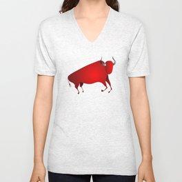 bull a la Altamira Unisex V-Neck