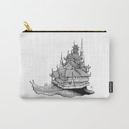 Snail Temple Carry-All Pouch