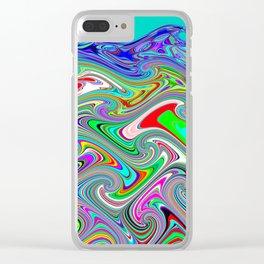 Wavewarping Clear iPhone Case