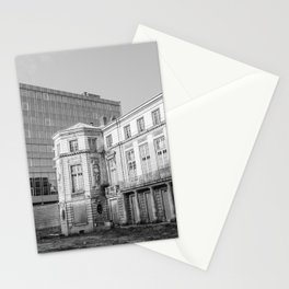 Ancient and modern architecture Stationery Cards