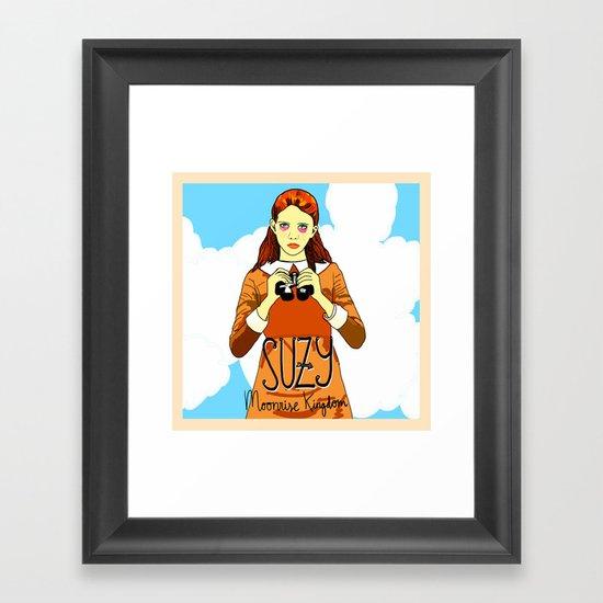 Moonrise Kingdom, Suzy Framed Art Print